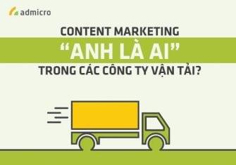 Content Marketing trong các công ty vận tải