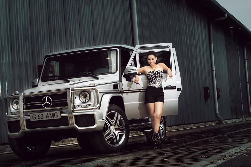 Mercedes chọn Thu Minh làm gương mặt thương hiệu