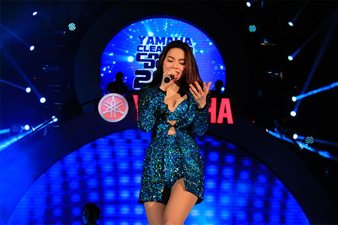 Hồ Ngọc Hà làm đại sứ thương hiệu cho Yamaha