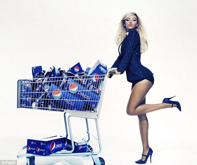 Beyonce làm đại sứ thương hiệu cho Pepsi