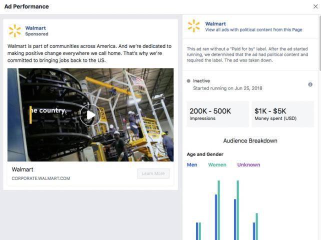 Facebook phạt quảng cáo của P&G và Walmart