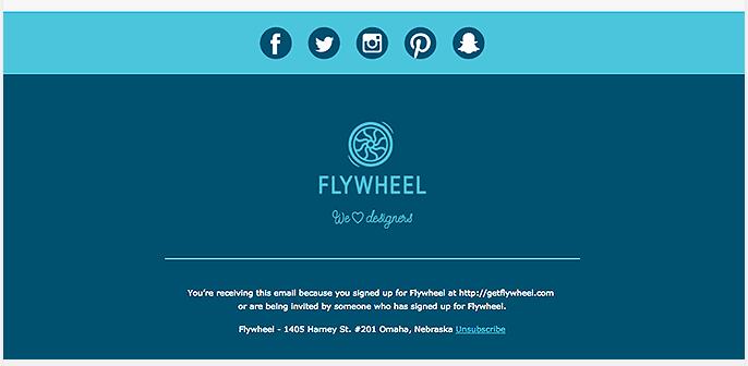 Footer newsletter mẫu là gì