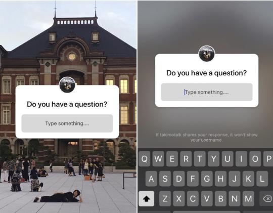 Tính năng đặt câu hỏi trên Instagram Stories