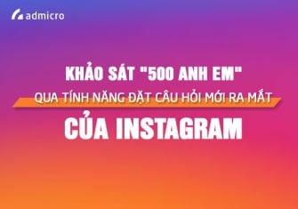 Tính năng đặt câu hỏi mới ra mắt của Instagram Stories
