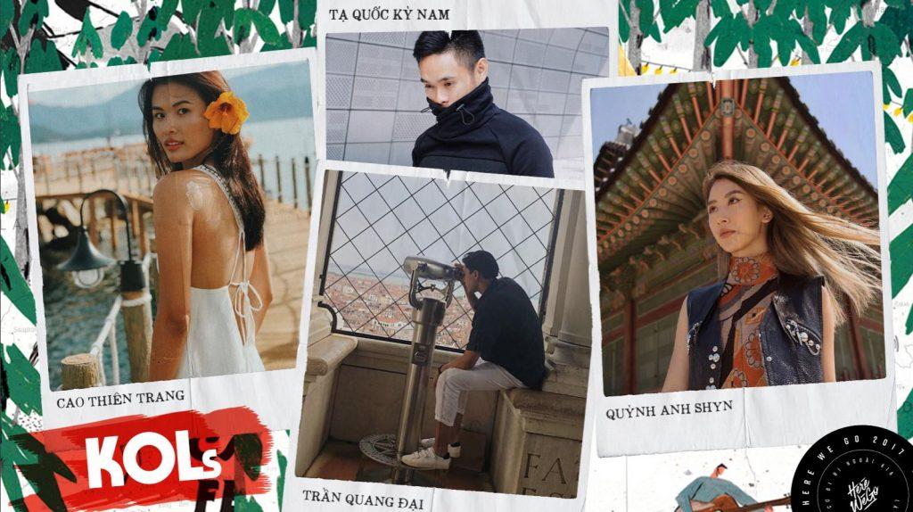KOLs Here We Go 2018 - Quảng bá thương hiệu