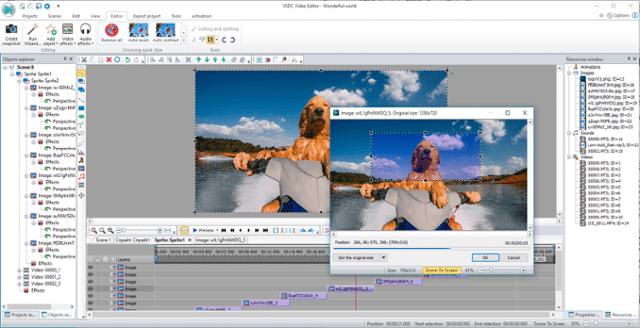 Phần mềm chỉnh sửa video miễn phítừ VSDC