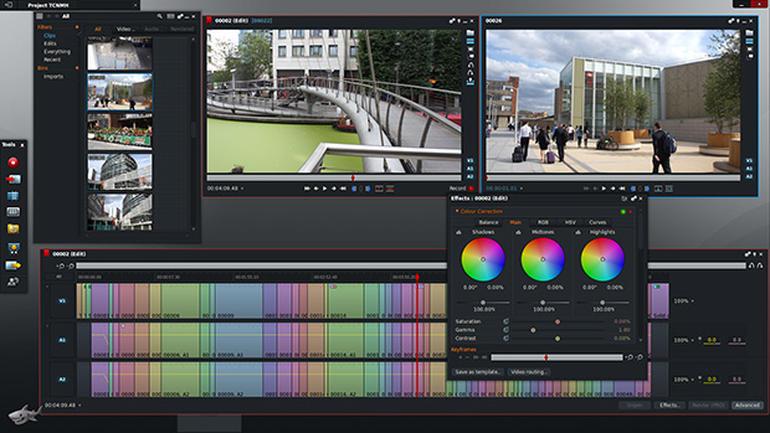 Phần mềm chỉnh sửa video miễn phí Lightworks