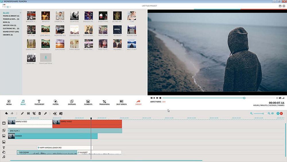 phần mềm chỉnh sửa video miễn phí Wondershare FilmoraGo