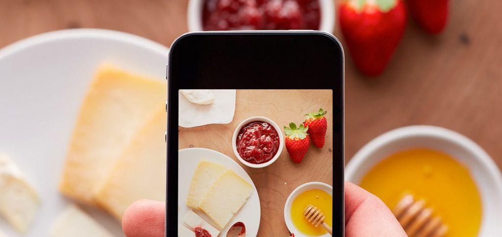 Chụp ảnh đồ ăn - Content Marketing nhà hàng