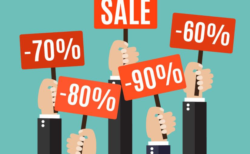 Cách thu hút khách hàng bằng một chương trình sale off - giảm giá