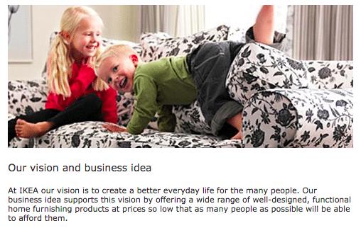IKEA mục tiêu thương hiệu là gì