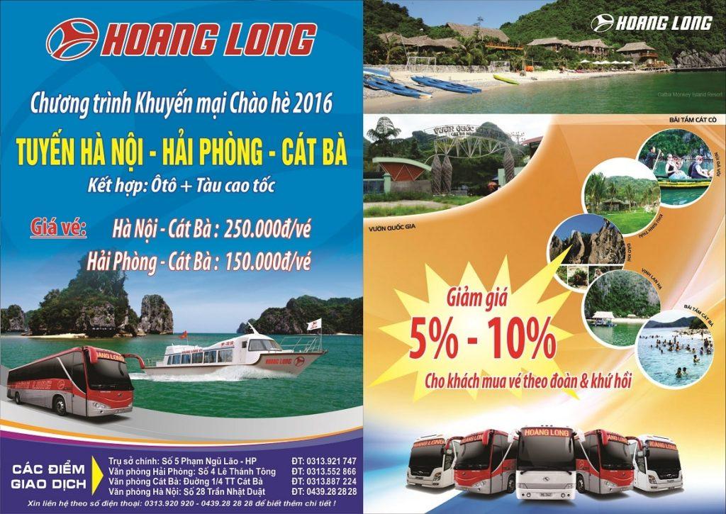 Banner quảng cáo marketing công ty vận tải Hoàng Long