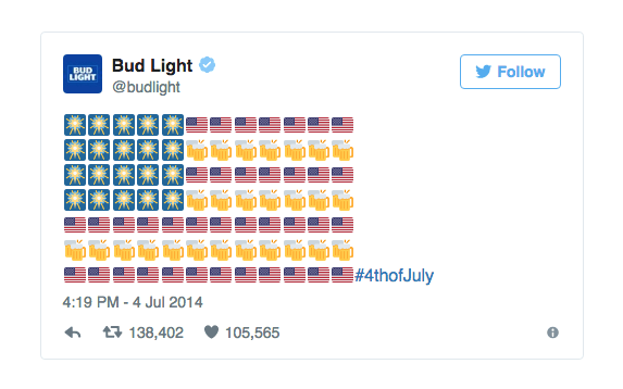 Chiến dịch sử dụng emoji của Budweiser