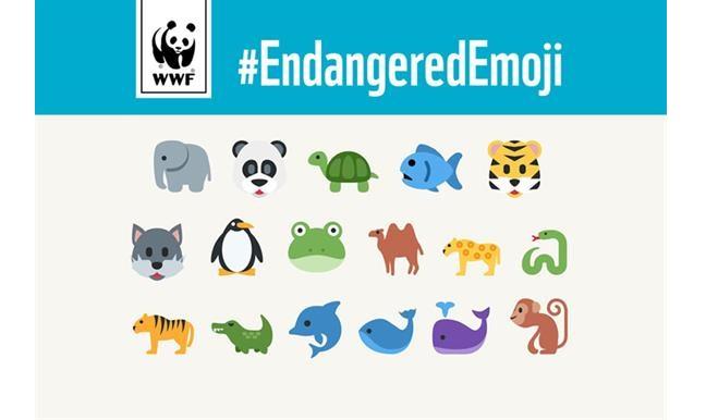 Chiến dịch #EndangeredEmoji của WWF