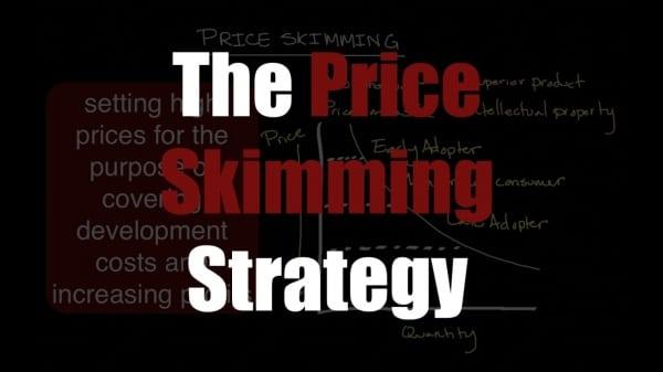 Chính sách giá trong marketing - Chính sách giá hớt váng