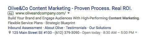 Native Ads là gì? Quảng cáo Native Ads hiển thị dưới dạng là một trong những kết quả tìm kiếm trên Google.