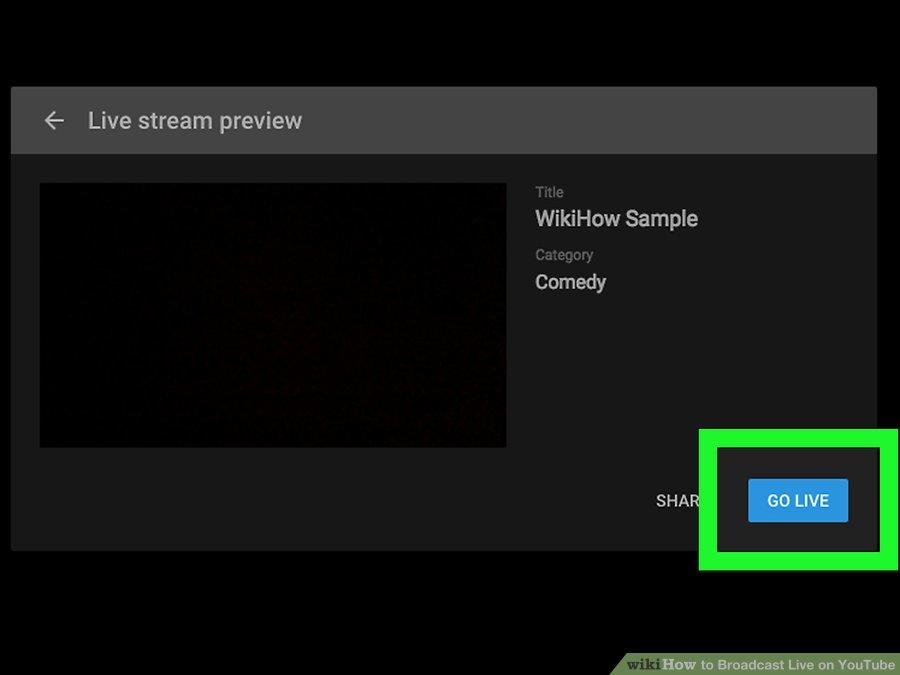 Cách live stream Youtube trên PC - Bước 8