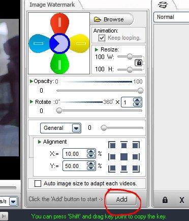 cách chèn logo vào videovới phần mềm Video Watermark 08