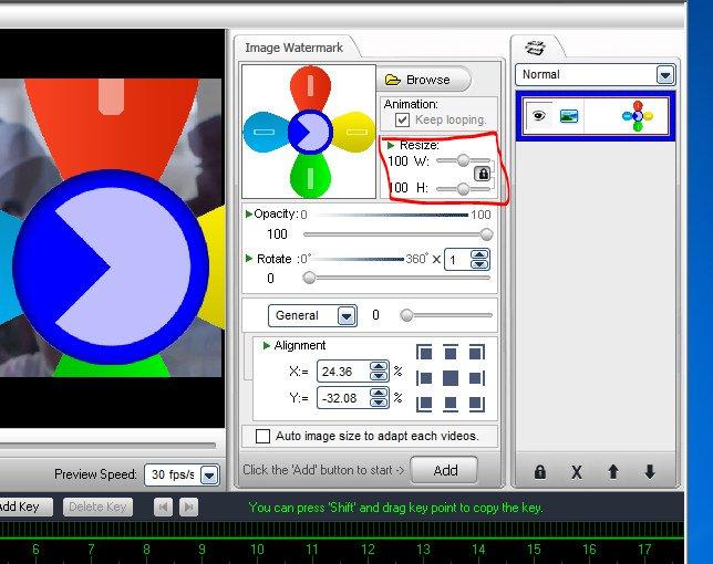 cách chèn logo vào videovới phần mềm Video Watermark 09