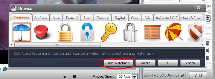 cách chèn logo vào videovới phần mềm Video Watermark 05
