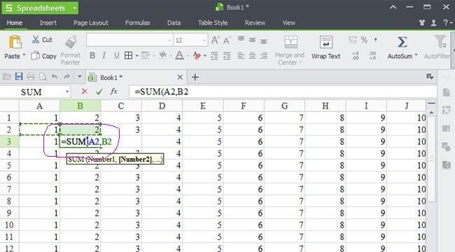 Hàm Sum - Những hàm bạn cần biết khi quản lý bán hàng bằng Excel