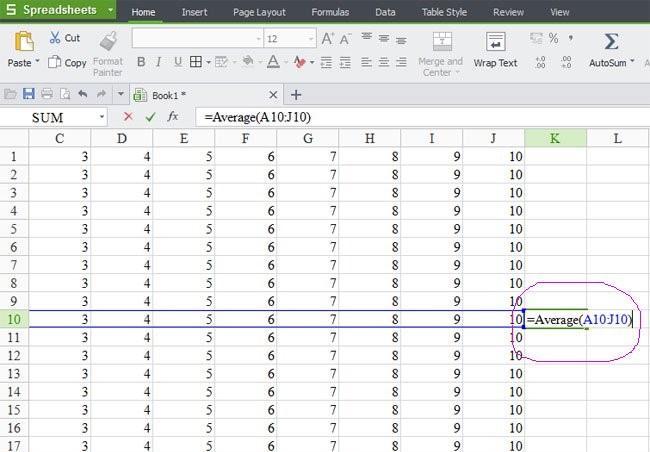 Những hàm bạn cần biết khi quản lý bán hàng bằng Excel - Hàm Average