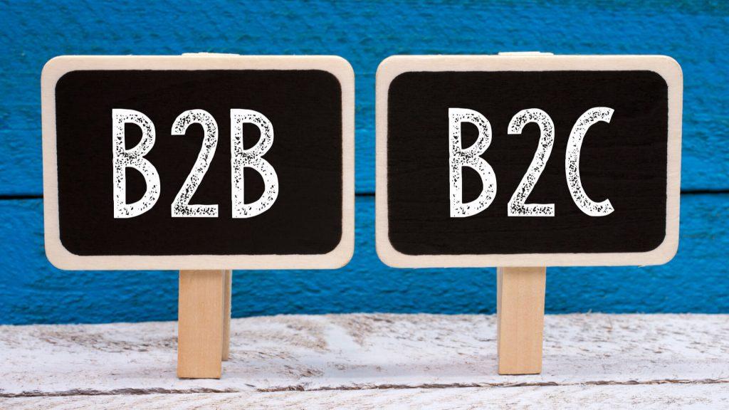 Sự khác nhau giữa B2B và B2C