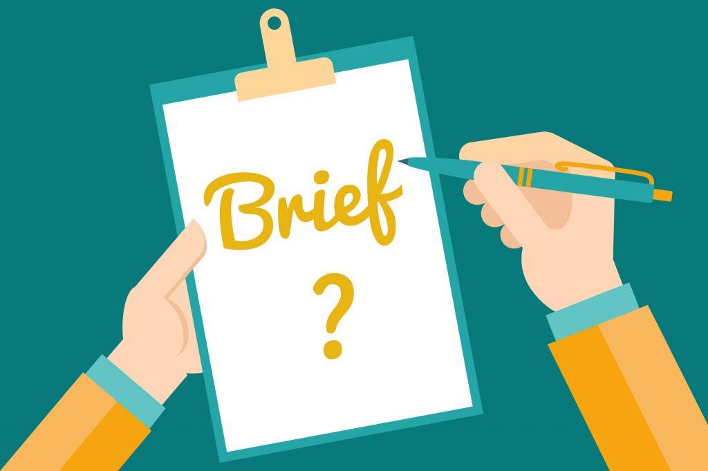 Khái niệm Brief là gì