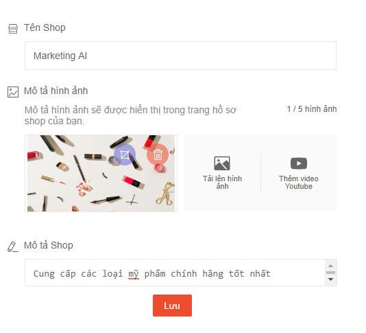 cách tạo cửa hàng trên Shopee để bán hàng 04