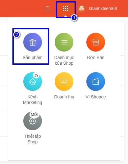 cách đăng sản phẩm lên Shopee để bán hàng 01
