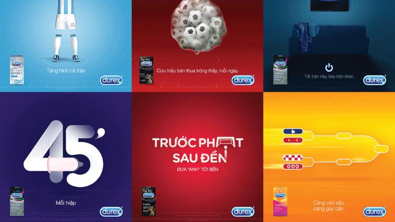Content thu hút của Durex Việt Nam trước trận đấu của tuyển thủ U23 - Website Marketing là gì