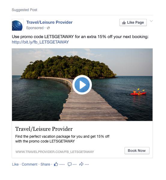 định dạng Facebook ads là gì - định dạng video