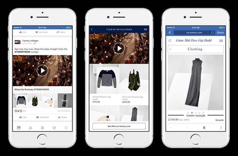 định dạng Facebook ads là gì - định dạng bộ sưu tập