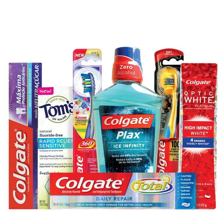 Chiến lược Marketing của Colgate-Bao vây khách hàng bằng sản phẩm