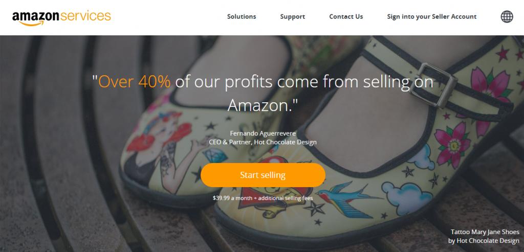 Đăng ký bán hàng trên Amazon 1