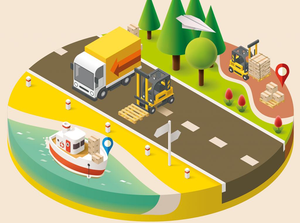 chức năng của Marketing Logistics là gì? - Phân phối sản phẩm