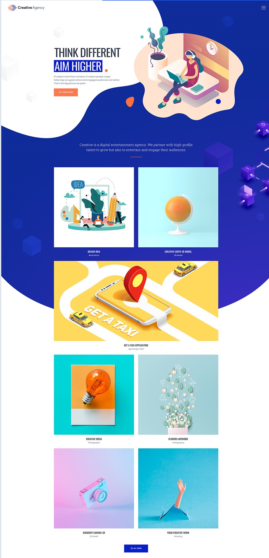 Portfolio là gì -Portfolio mẫu của MI Creative Agency
