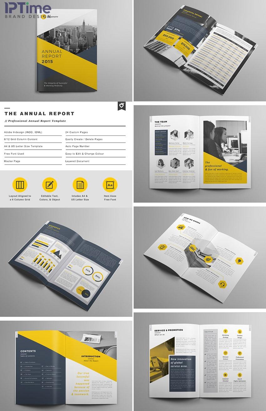 Một số mẫu thiết kế profile mẫu cho công ty Ảnh 1