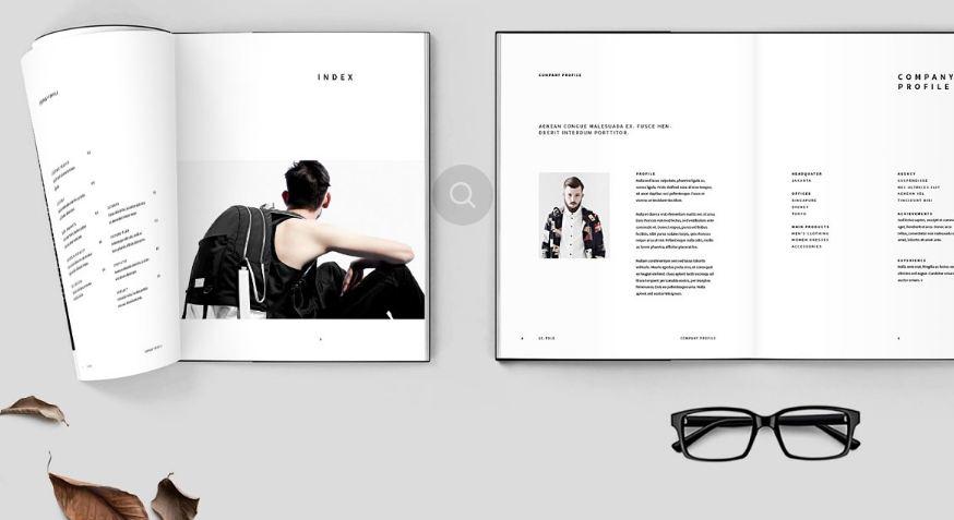 Một số mẫu thiết kế profile mẫu cho công ty