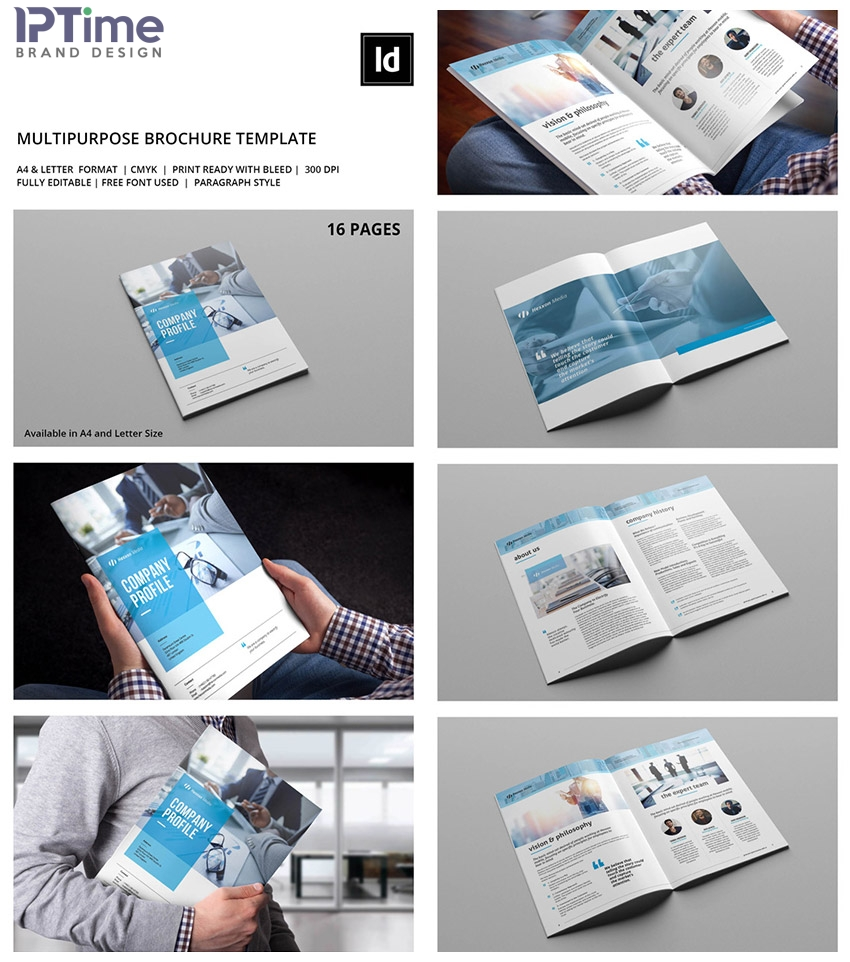 Một số mẫu thiết kế profile mẫu cho công ty Ảnh 2