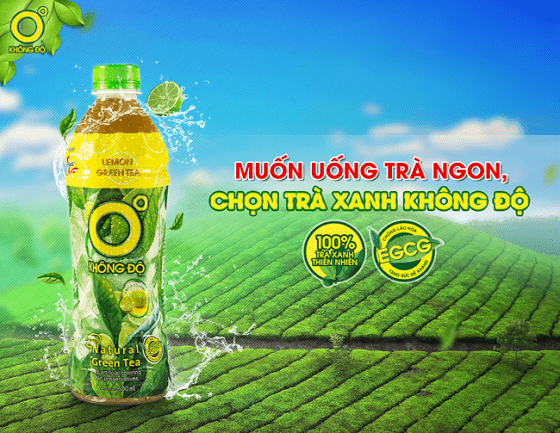 Chiến lược marketing của trà xanh không độ