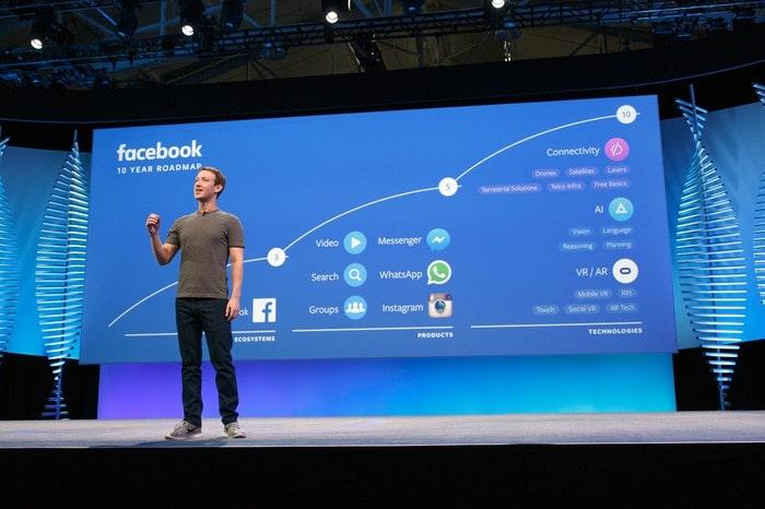 Những sản phẩm của Facebook được Mark giới thiệu