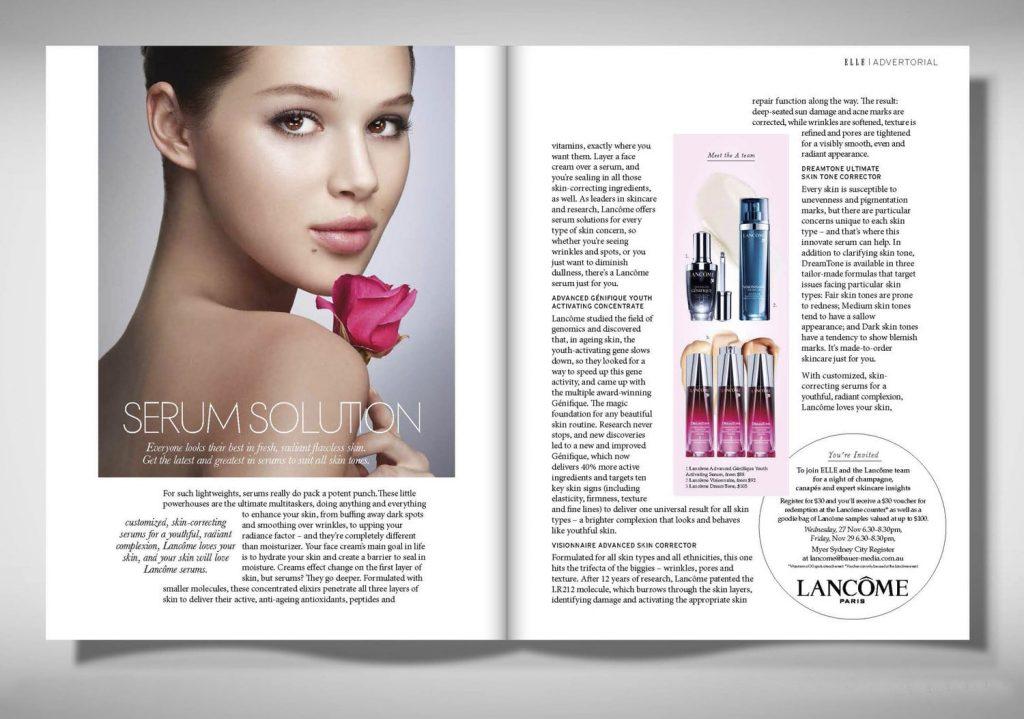 chiến lược Marketing của Lancôme- Truyền thông tiếp thị mạnh tay