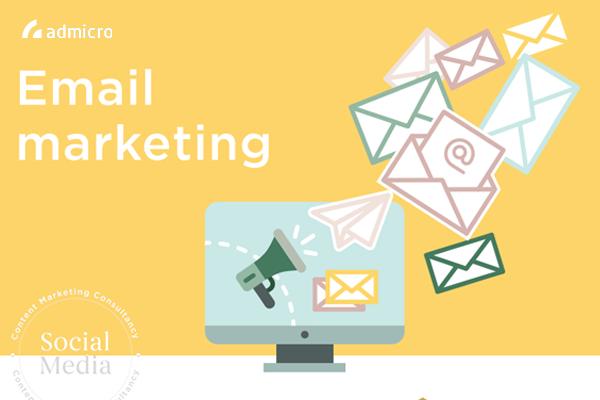 báo giá email marketing của admicro.vn