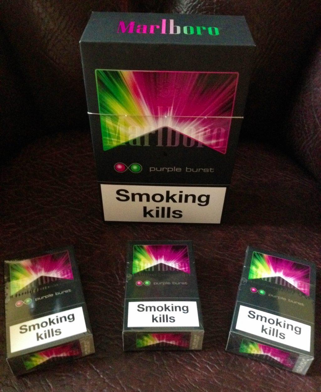 chiến lược Marketing của Marlboro- Smoking kills