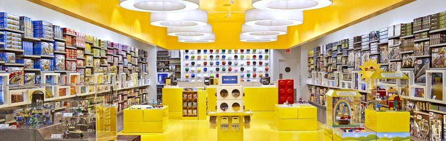 chiến lược Marketing của Lego- Có mặt ở hầu hết các quốc gia