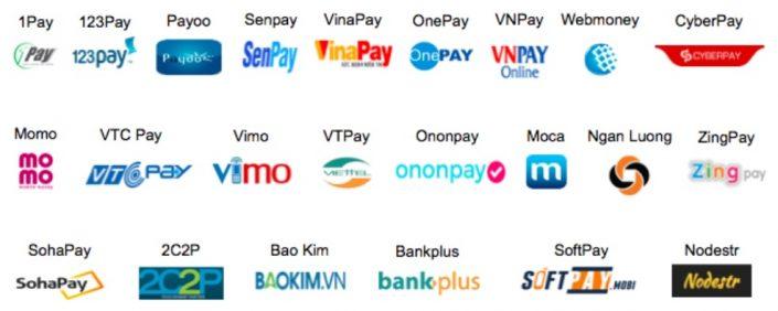 Các loại ví điện tử trên thị trường