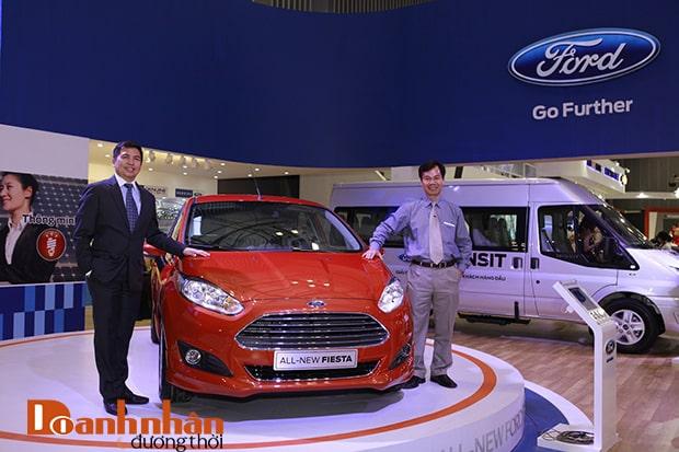 Chiến lược marketing của Ford-  Ra mắt dòng xe mới