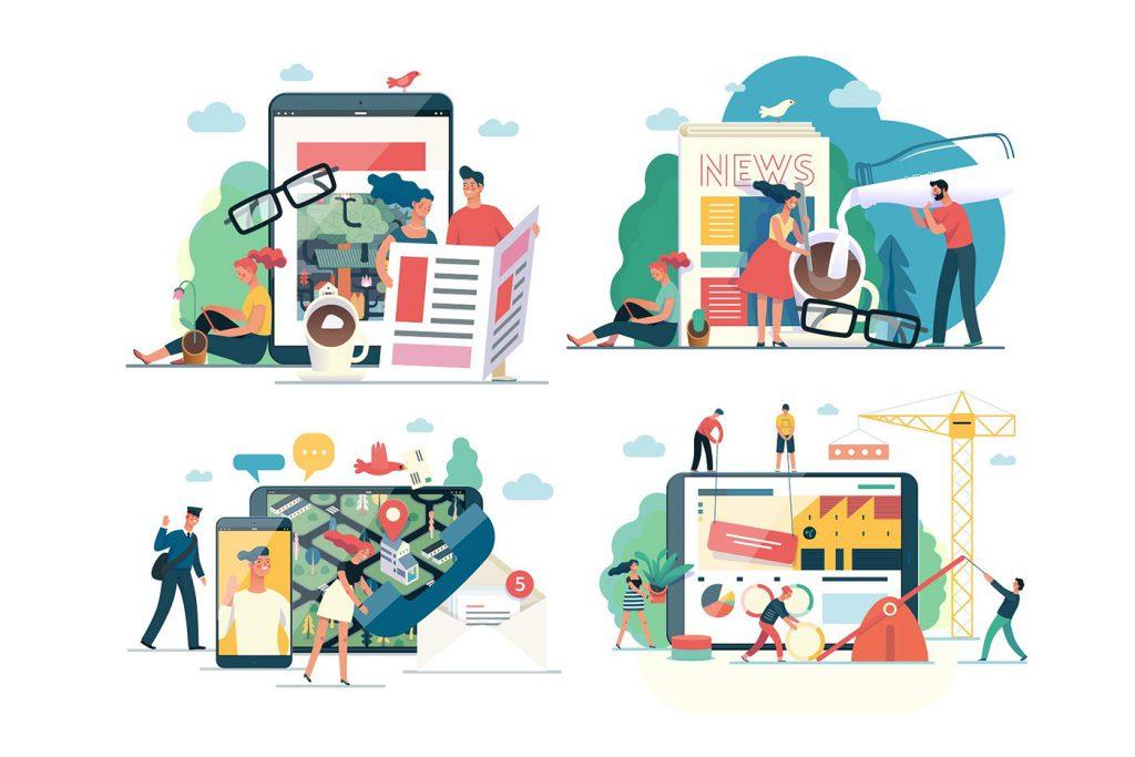SME là gì - Kết hợp các nền tảng kỹ thuật số