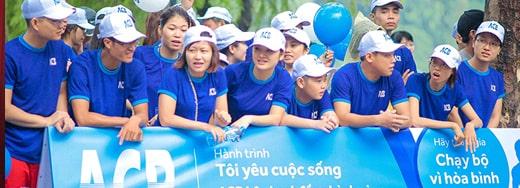 Chiến lược Marketing của ngân hàng ACB- Chiến  dịch từ thiện